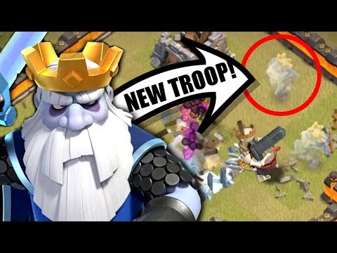 NEW OFFICIAL ROYAL GHOST TROOP LEAKED IN CLASH OF CLANS! OCTOBER 2019 HALLOWEEN UPDATE!