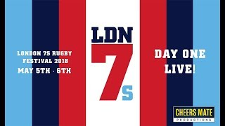 Live london rugby 7s festival 2018: day one 05/05/18