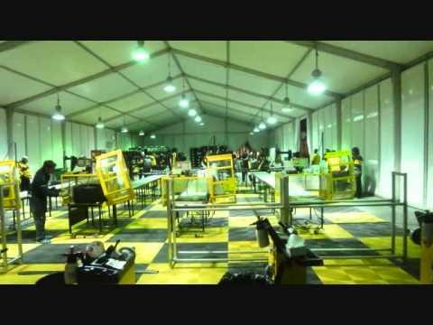 Dubai Dunlop Motorsport 24 Hour 2014 tyre fitting service