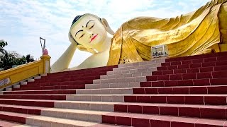 MYANMAR - Asia - Three Pagodas around Bago