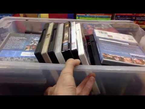 Carboot sale Haul – Part 2 – Media, Games/DVDs & books – Making money selling on eBay & Amazon
