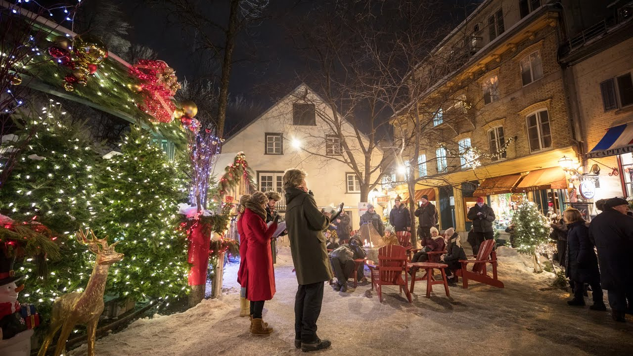 Places Open On Christmas Near Me.Enjoy Christmas Holidays In Quebec City Visit Quebec City