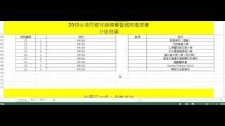 2015全港閃避球錦標賽暨國際邀請賽 - 小學男子組及小學混合組分組抽籤