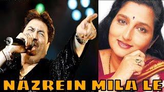 Nazrein Mila Le by Kumar Sanu, Anuradha Paudwal   Ek Hi Raasta   Bollywood Romantic Song