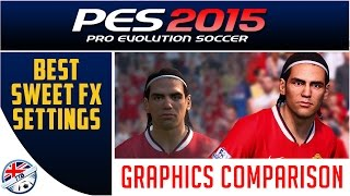 [TTB] PES 2015 - Best Sweet FX Settings - Graphics Comparison - How to Install
