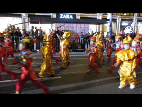 San Francisco Chinese New Year Parade 2016 Presidio Knolls School