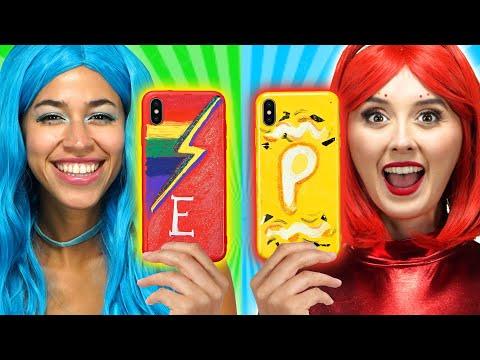 CUSTOMIZING PHONE CASES THE SUPER POPS PAINTING PHONE CASES Totally TV Originals