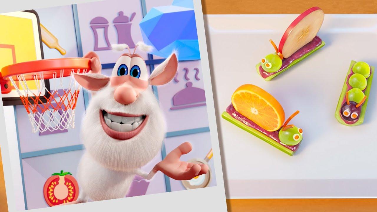 Буба 🍈 Кулинарное шоу Бубы: Фруктовые букашки 🐛 Весёлые мультики для детей - Буба МультТВ