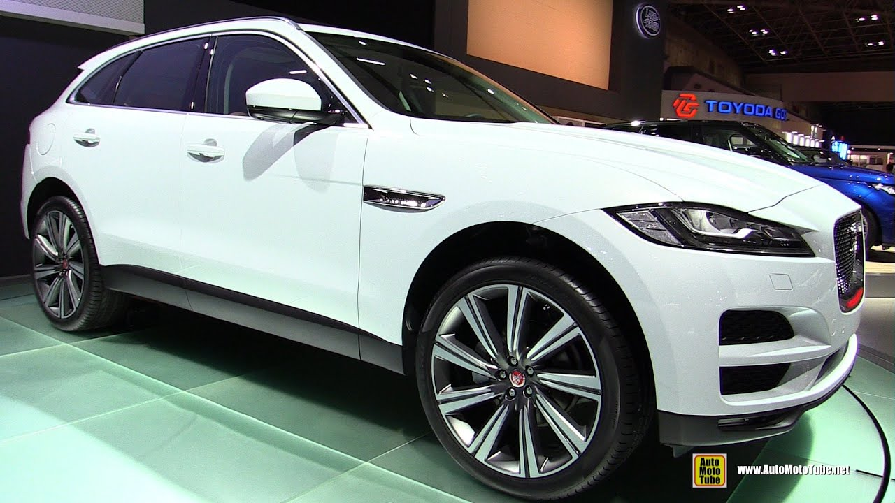 2016 jaguar f pace exterior and interior walkaround. Black Bedroom Furniture Sets. Home Design Ideas