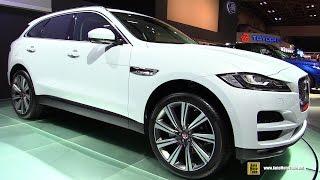 2016 Jaguar F Pace - Exterior and Interior Walkaround - 2015 Tokyo Motor Show