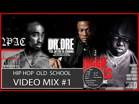 HIP-HOP OLD SCHOOL VIDEO MIX Best of Old School Hip Hop Rap & RnB Throwback Mix #1