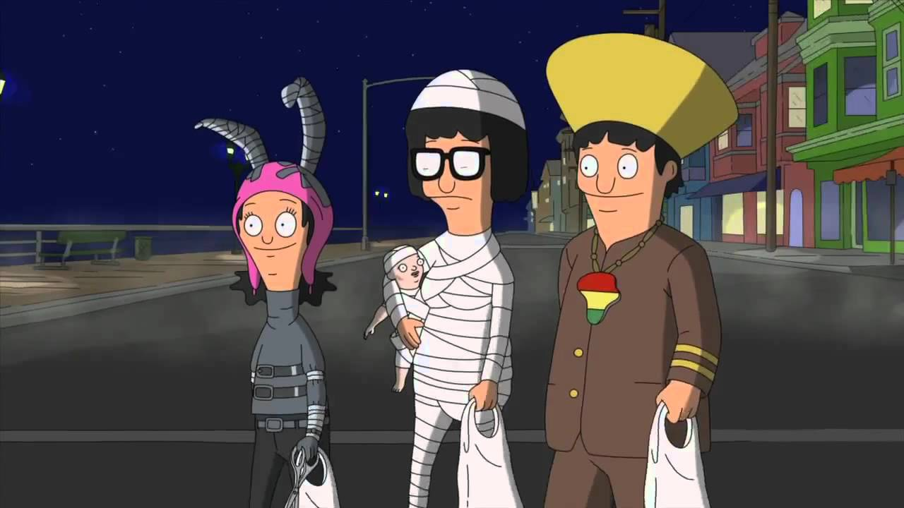 BOB'S BURGERS - Rich People Are Better At Halloween from