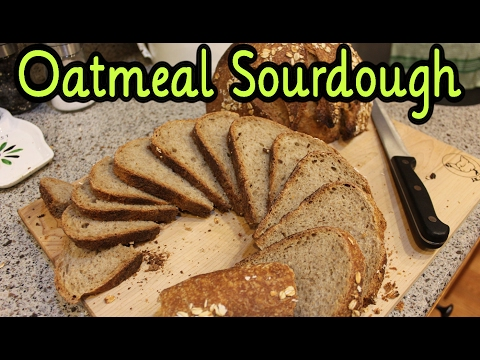 Oatmeal Sourdough Bread Recipe