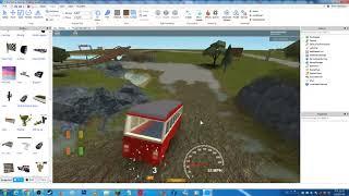 Roblox Old UK Bus testing