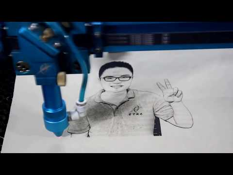 Laser Engraver Advanced Tutorial12 how to engraving our own picture