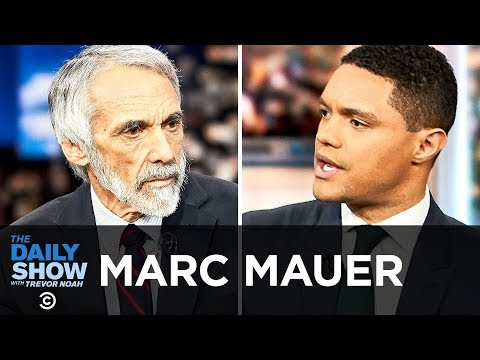 Marc Mauer - Tackling Criminal Justice Reform with The Sentencing Project | The Daily Show