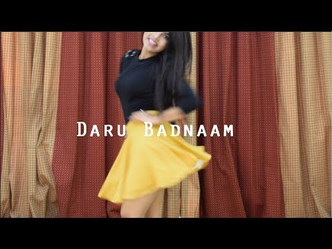 Daru Badnaam Dance Cover | Kamal Kahlon & Param Singh | Latest Punjabi Viral Songs | By Srishti thumbnail