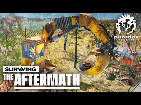 🔴Surviving The Aftermath - Экстракторы и бесконечные ресурсы! #12