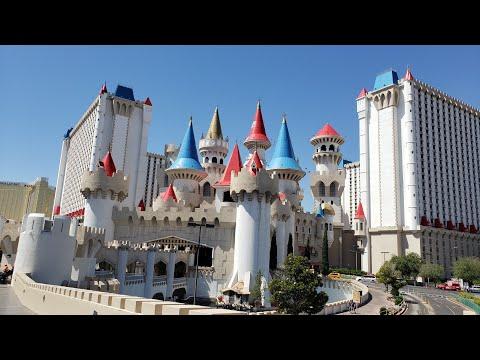 Excalibur Casino - Las Vegas Walk-thru
