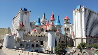Excalibur Casino - Las Vegas walk-thru