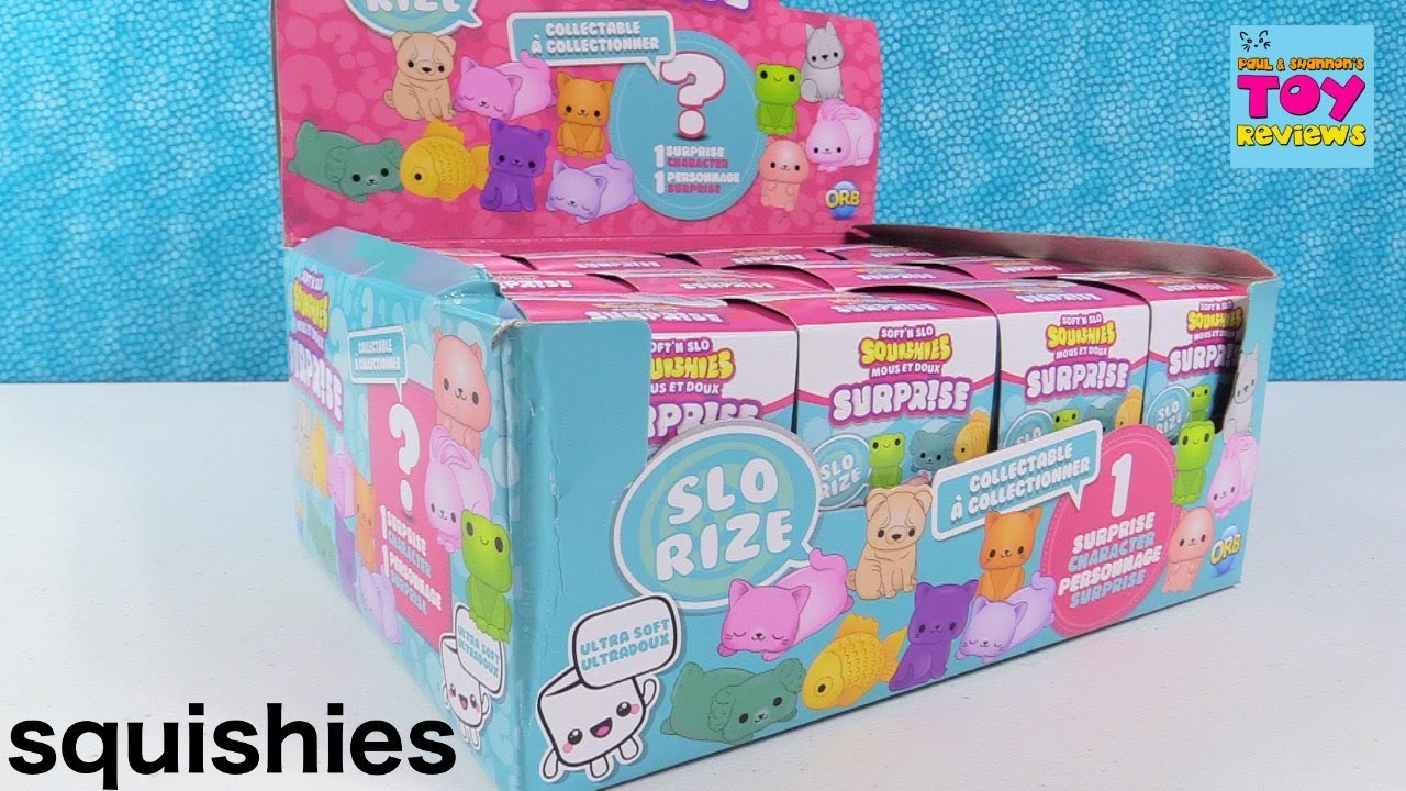 Soft N Slo Surprise Squishies Series 1 Squishy Blind Box