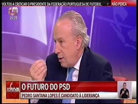 Entrevista de Pedro Santana Lopes à CMTV