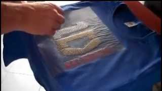TSHIRTS VINYL CUTTER PLOTTER FLOCK HEATPRESS CUSTOM SHINEY RHINESTONES .wmv