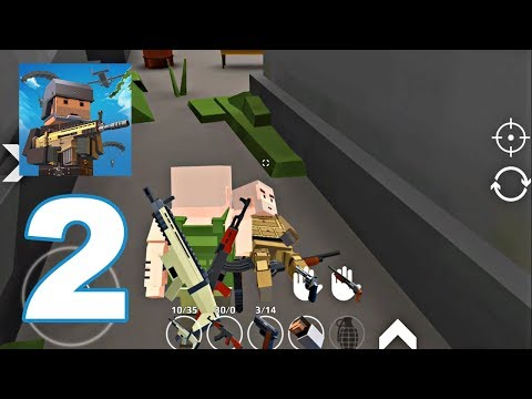 URB: Last Pixels Battle - Gameplay Walkthrough Part 2 - Crazy War (Android Games)