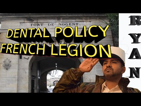 DENTAL POLICY FRENCH FOREIGN LEGION INTERNATIONAL ADVERTISEMENT
