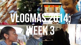 VLOGMAS WEEK 3: Shopping, Hanging Out, Decorating Christmas Tree! Thumbnail