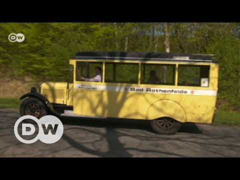 Vintage city buses come together   DW English