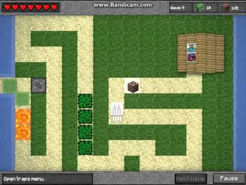 Minecraft Tower Defense – Ep.1 – Stupid Ghasts!