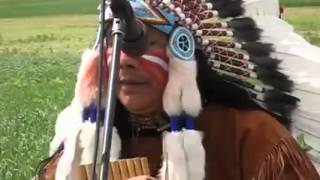 White Buffalo - The Best Native American Flute Performance Ever