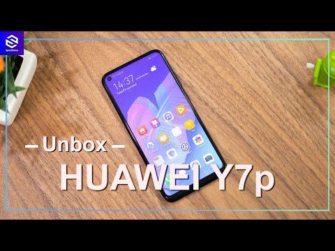 แกะกล่อง HUAWEI Y7p รุ่นเล็ก ได้กล้อง 48MP ในราคา 4,999 บาท - วันที่ 06 Feb 2020