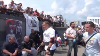 Соревнование силачей в Минске
