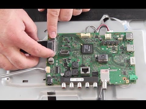 Sony Tv Repair >> Sony 48 Led Tv Repair Kdl 48r5 How To Replace The Main Board
