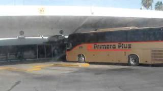 Bus Staction in celaya guanajuato mexico / Central De Autobuses de Celaya Gto Mexico