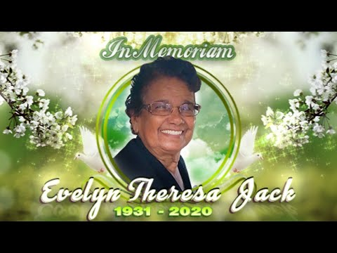 Funeral Service For The Late Evelyn Theresa Jack