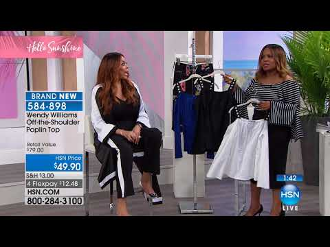 HSN | Wendy Williams Fashions 02.11.2018 - 02 PM