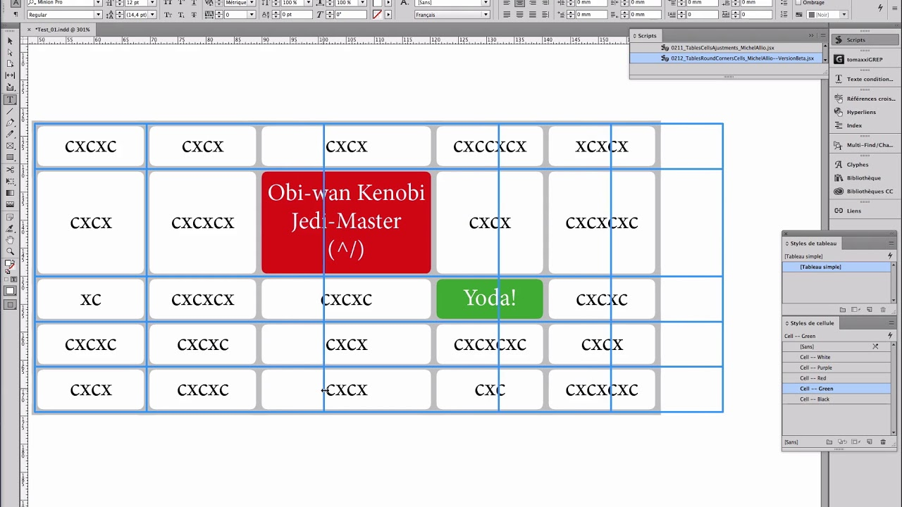 Indesign table rounded corners cells youtube for Indesign table
