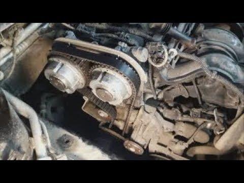 Быстрый способ замены ремня ГРМ на Форд Фокус.