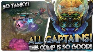 ALL CAPTAIN HEROES COMP IN RANKED!! Vainglory 5v5 [Ranked] Gameplay - Flicker |CP/Tank| Top Gameplay