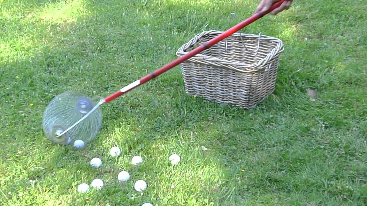 ramasser les balles de golf et autres objets arrondis sans. Black Bedroom Furniture Sets. Home Design Ideas