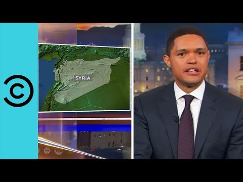 Trump's Blurred Lines on Syria - The Daily Show | Comedy Central