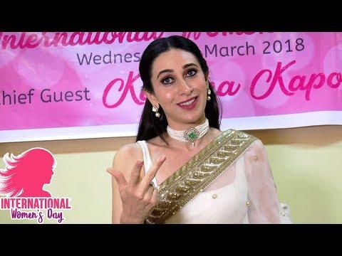 INTERVIEW Karisma Kapoor TALKS about Kareena Kapoor, Babita and Women's day