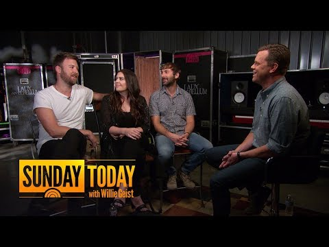 Lady Antebellum Set To Tour With Darius Rucker, Which Means A Lot Of Golfing | Sunday TODAY
