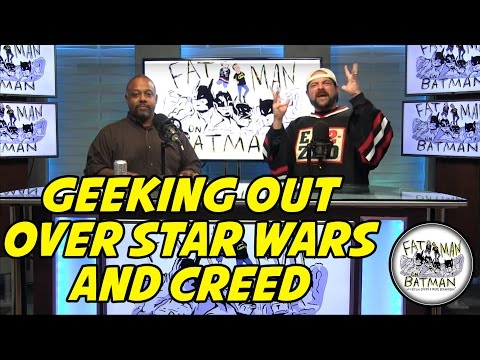 GEEKING OUT OVER STAR WARS AND CREED