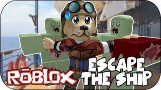 ROBLOX - zombi Otra vez? - Fuggi dalla nave