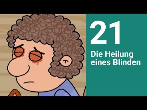 Die Heilung Eines Blinden - Die Bibel Einfach Erzählt