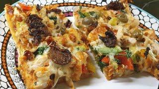 Pizza 4 Ways   4 in 1 Pizza   By Neetu Suresh